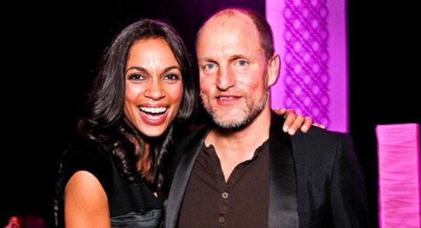 Woody Harrelsonand Rosario Dawson - White House Correspondents' Dinner 2012