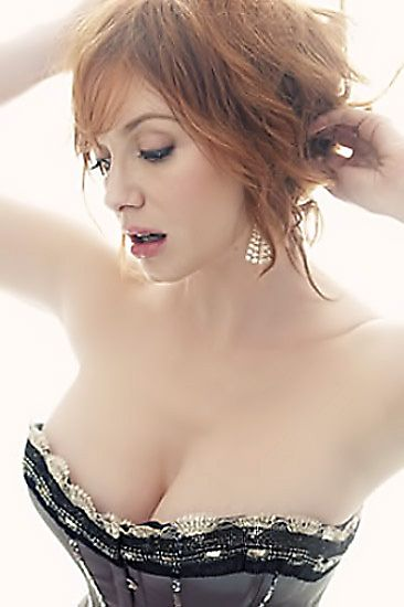 Christina Hendricks - Her Sexiest Cleavage-Baring Looks