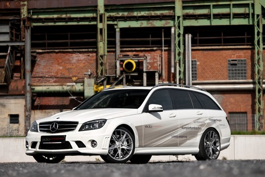 Exclusive Photos Of Edo Mercedes C63 AMG Wagon