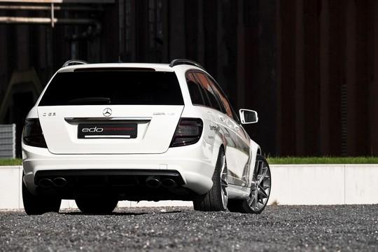 Exclusive Photos Of Edo Mercedes C63 AMG Wagon