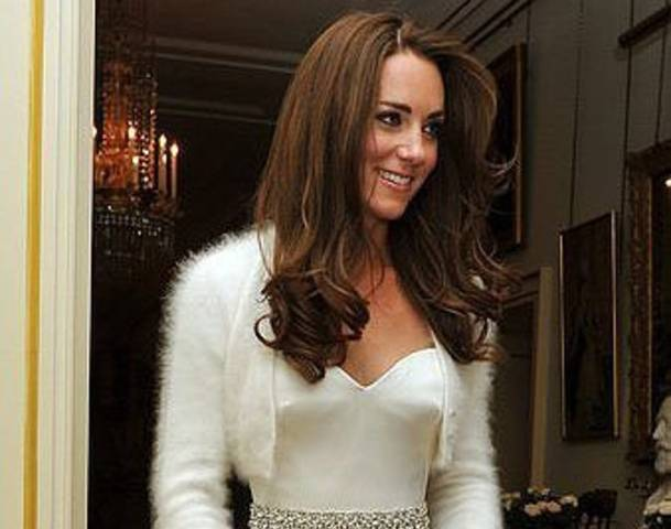 Glamorous Duchess Kate flashes legs in high-slit dress at Claridges