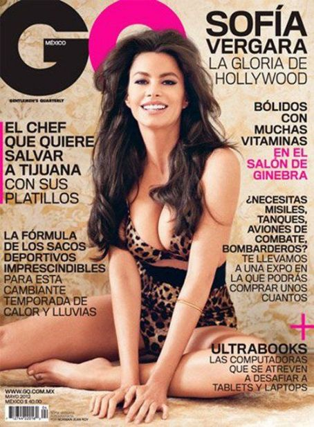 Sofia Vergara in Mexican issue of GQ magazine