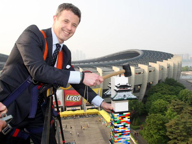 World's tallest Lego tower built in Seoul