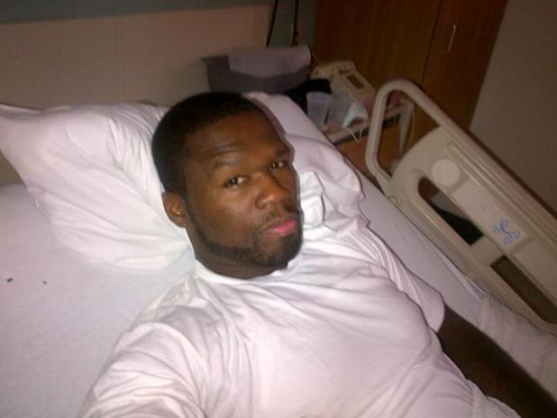 Rapper 50 Cent Hospitalized After Serious Car Accident