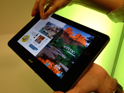 Acer Doesn't Ace the Iconia A700 Android Tablet