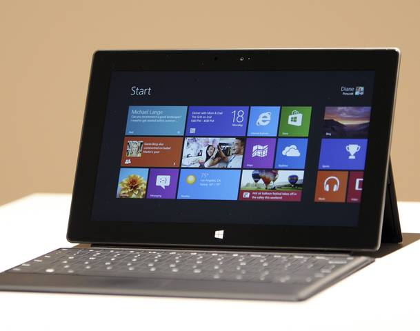 Microsoft unveils its first ever tablet in California