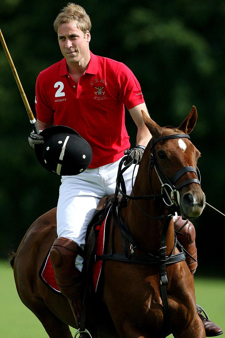 prince william playing polo youfrisky. Black Bedroom Furniture Sets. Home Design Ideas