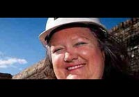 World's richest woman Gina Rinehart earns $2 million every hour