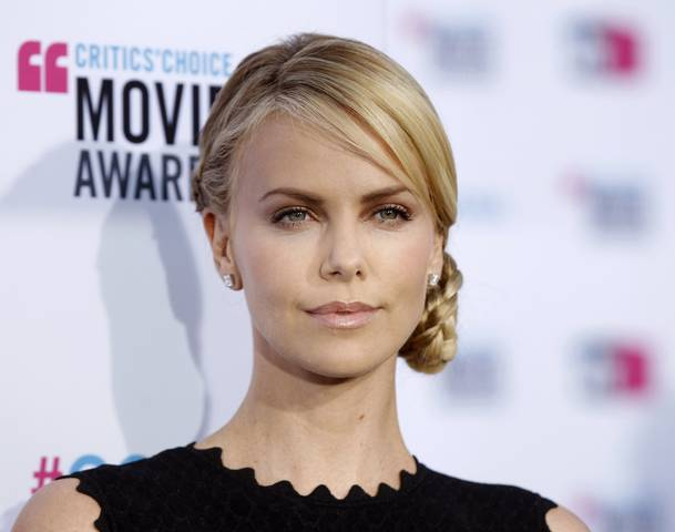 Charlize Theron  Playing Evil in 'Snow White and the Huntsman'