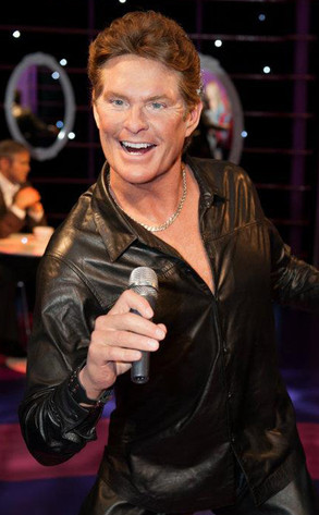 David Hasselhoff, Wax Figure, Vienna