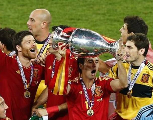Exclusive Pictures - Spain Wins UEFA 2012 Championship