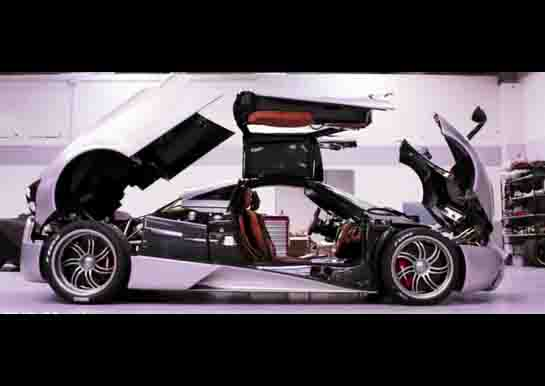 Inside Pagani Factory: The Huayra (Video)