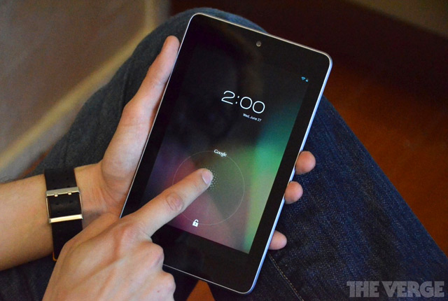 Nexus 7 – Star of 2012 Tablets