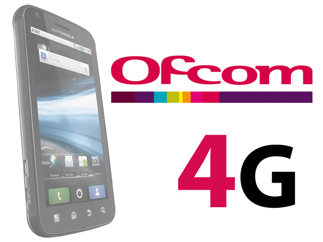 Ofcom Announces 4G Mobile Spectrum Auction for 2012