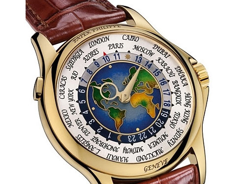 Patek Philippe's Platinum World Time: $4 million