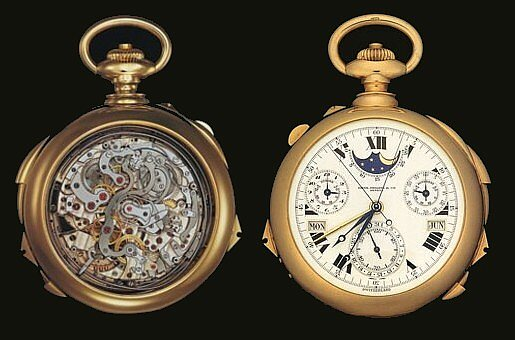 Patek Philippe's Supercomplication: $11 million