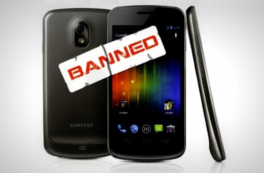 Samsung Galaxy Nexus banned in US