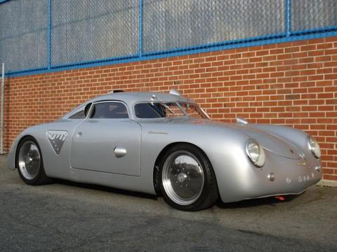 Porsche 356 Silver Bullet Hot Rod