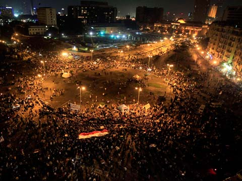 Protests Against Morsi in Egypt