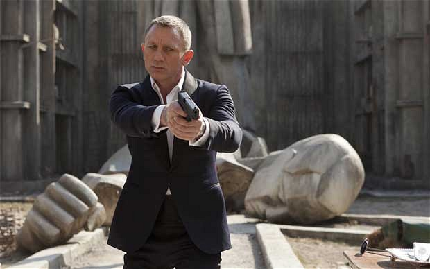skyfall bond 2012