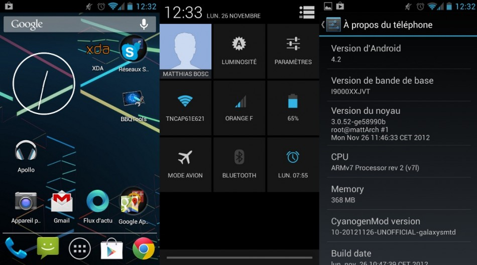 How to Install Android 4.2.1 with CyanoGenMod 10.1 on Galaxy S I9000