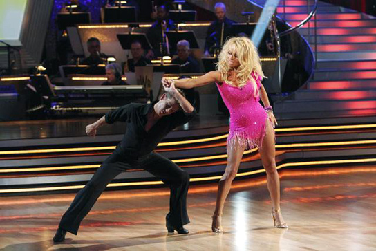 Dancing With The Stars - Pamela Anderson Struggles With 'No Men'