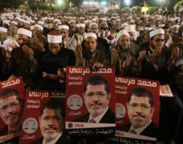 Egypt's Islamists Rally in Support of Morsi