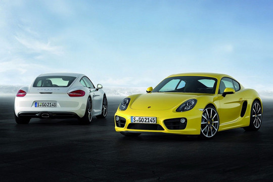 First Official Pictures Of 2013 Porsche Cayman
