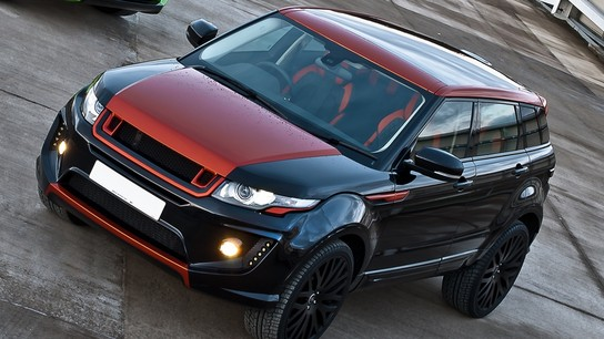 Exclusive Photos of Kahn Range Rover Evoque RS250 Vesuvius Edition