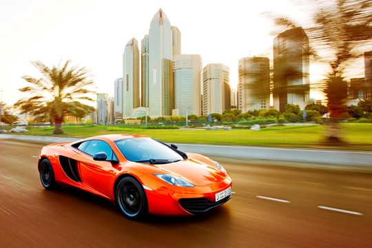 "McLaren 12C Wins ""Car of the Year"" Award"