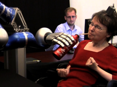 Mind Control Robotic Arm