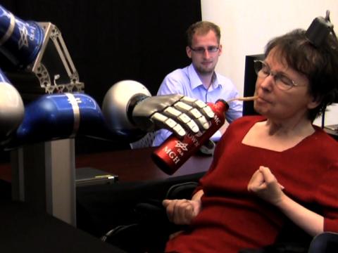 Mind Control Robotic Arm