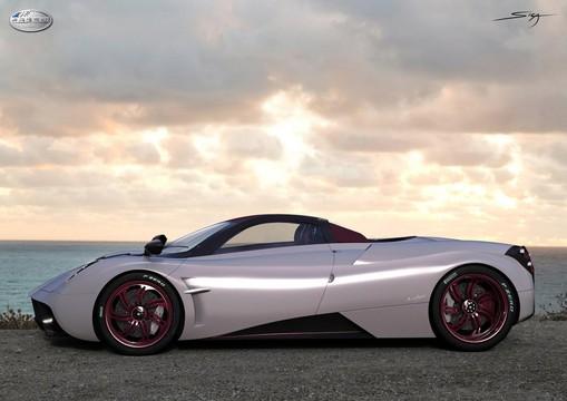 Pagani Huayra Roadster 2013