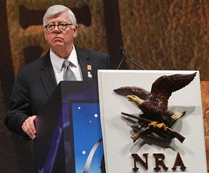 Battle against White House - NRA president