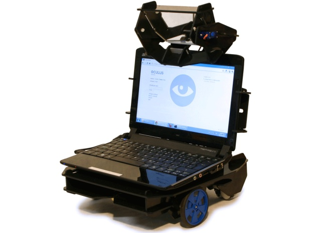 Turn Your iPad into a Roaming Robot