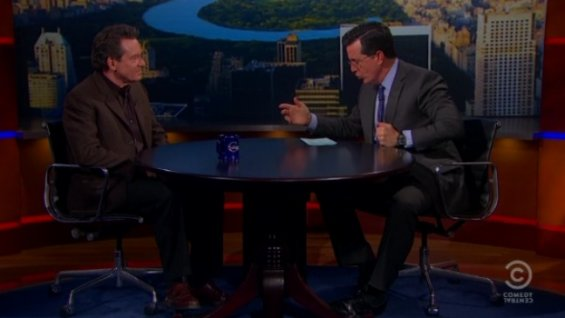 colbert report lawrence wright