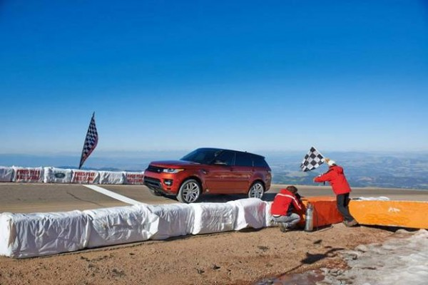 2013 Pikes Peak Pace Car - Range Rover Sport