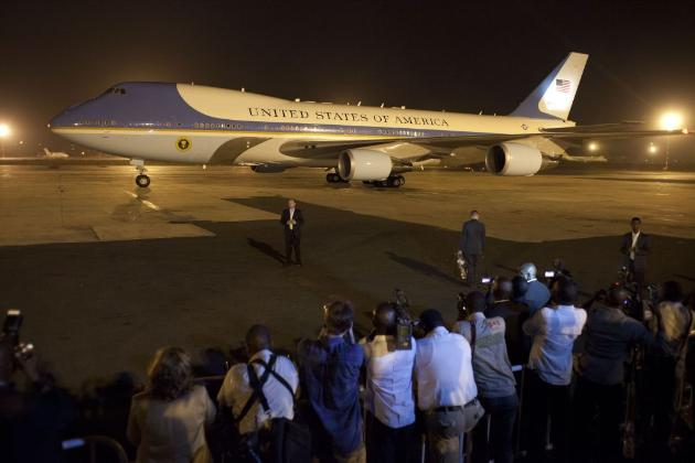 Obama Opens Weeklong Trip to Africa