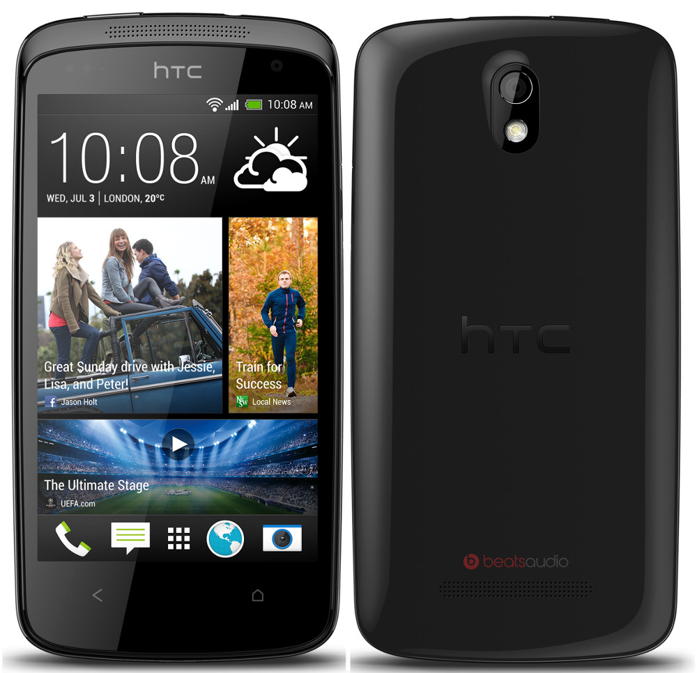 HTC Desire 500 With Android 4.2 Launched