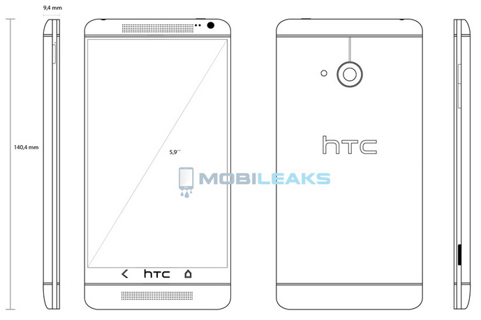 HTC One Max Announced