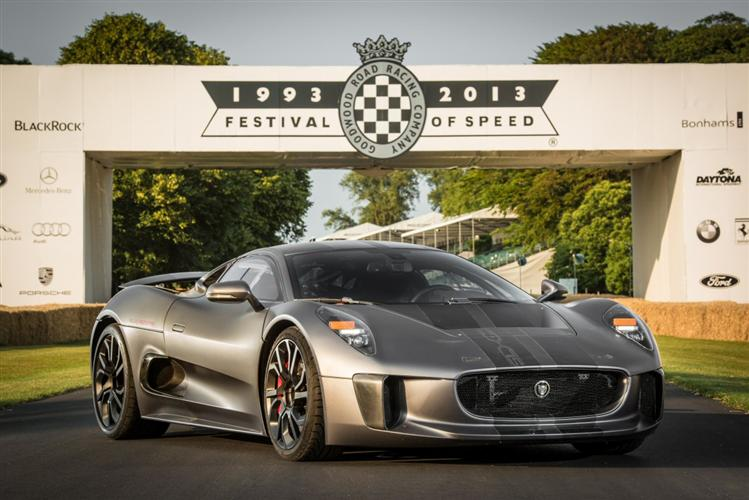 Jaguar C-X75 Hybrid Supercar - Goodwood