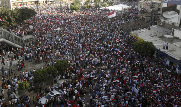 Millions Protest in Egypt - 2013