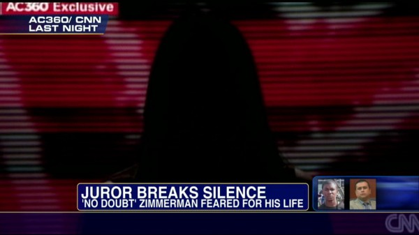 Zimmerman Verdict Fallout - Juror Speaks Out