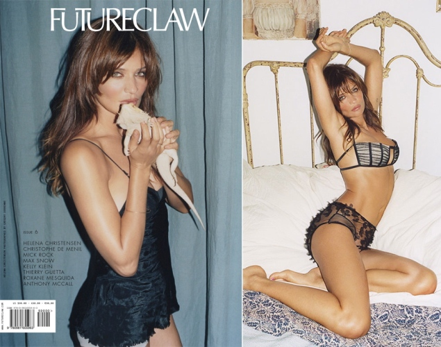 Helena Christensen for FutureClaw Magazine