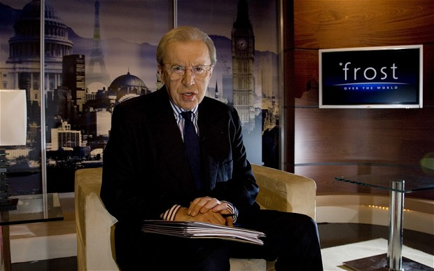 Sir David Frost Diesat the Age of 74