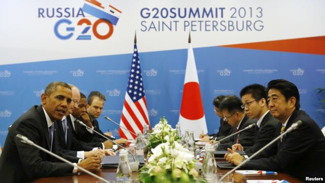 Syria Rifts Loom Over G20 Summit